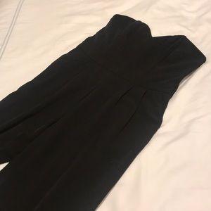 Black Sweetheart Jumpsuit H&M